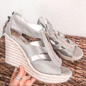 Michael Kors Espadrille Wedge Sandals